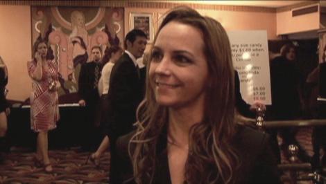 sarah nean bruce interviewed at world premiere-yesterday was a lie