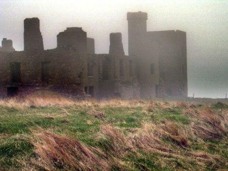 The Fog at the famous Slain Castle from Bram Stoker's Dracula … or what's left of it.