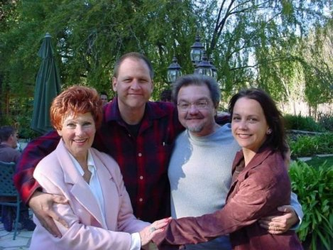 Happy Days Farm with Lead Actress Marion Ross, Director John Putch, Writer Rex McGee and CoExProducer Sarah Nean Bruce (2004)
