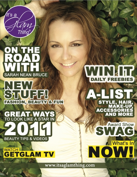 Best Ever You Magazine Ad with ItsaGlamThing Beauty/Health Reporter/Informationist Sarah Nean Bruce