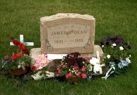 James Dean Park Cemetery Fairmont