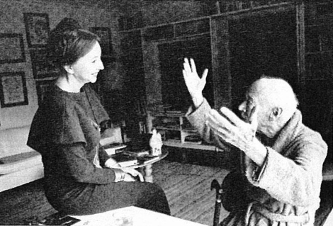 the infamous literary couple: Anaïs Nin & Henry Miller (Wiki Image)