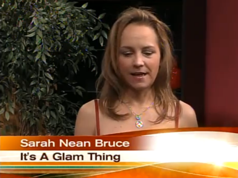 Production Photo: ABC15 Sonoran Living Guest – Sarah Nean Bruce ~ It's A Glam Thing, Hollywood Beauty/Health/LifeStyle Reporter and TV Personality on SONORAN LIVING