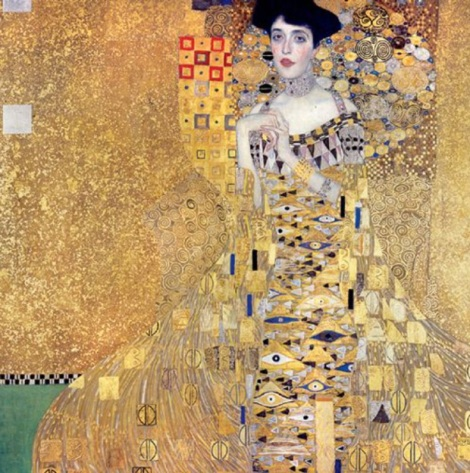 What Freud has to do with Klimt and the neuroscience of a Beethoven symphony. (PHOTO: Gustav Klimt, Adele Block-Bauer, 1907. Oil, silver, gold on canvas)