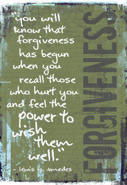 forgiveness intentions (Graphic via ॐ Spiritual Bliss ॐ)